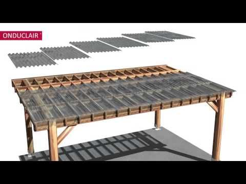 Install Corrugated Roofing Build It Pergola With Roof