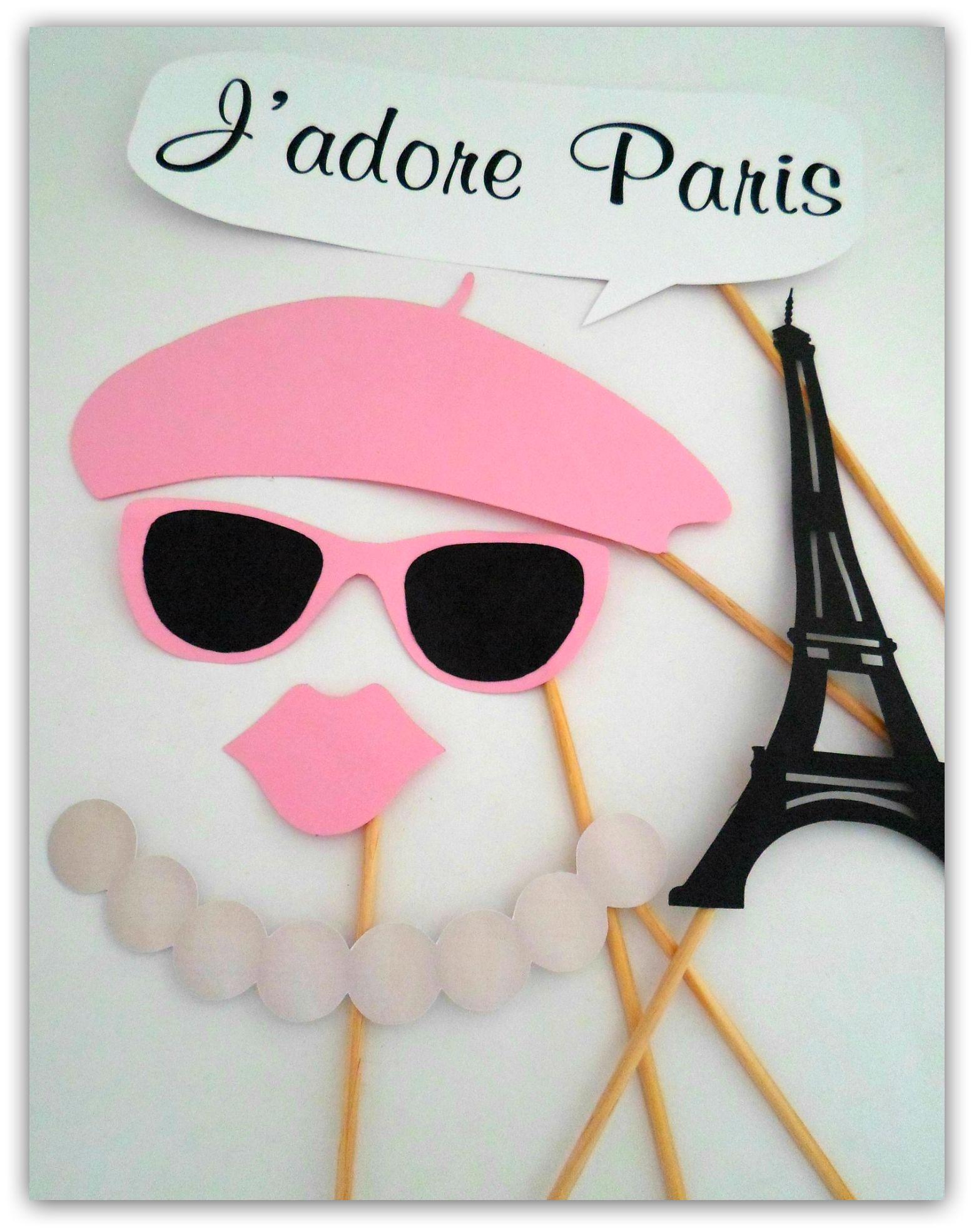 Placas Divertidas/Props Paris | Pinterest | París, Molde y Cotillon
