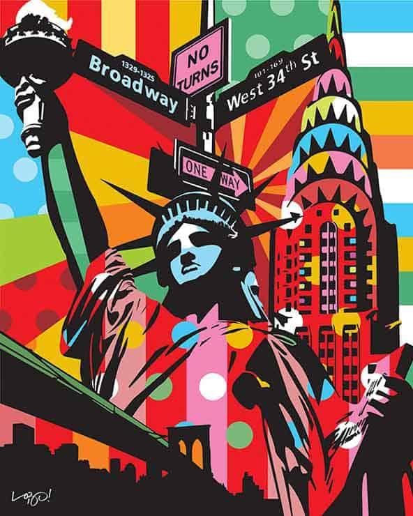 New York Pop Art Paintings