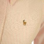 Ralph Lauren Pink Stripe Oxford Shirt