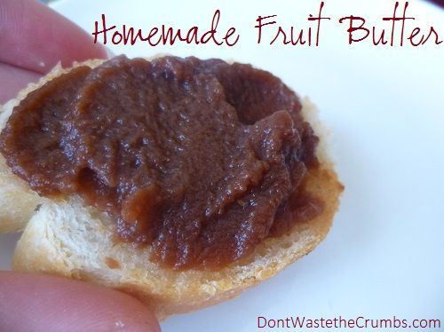 Homemade Fruit Butter Tutorial + 7 Mouth Watering (and easy) Recipes Note to self: read this and good info...can water bath process; recipe for blackberry-peach butter.