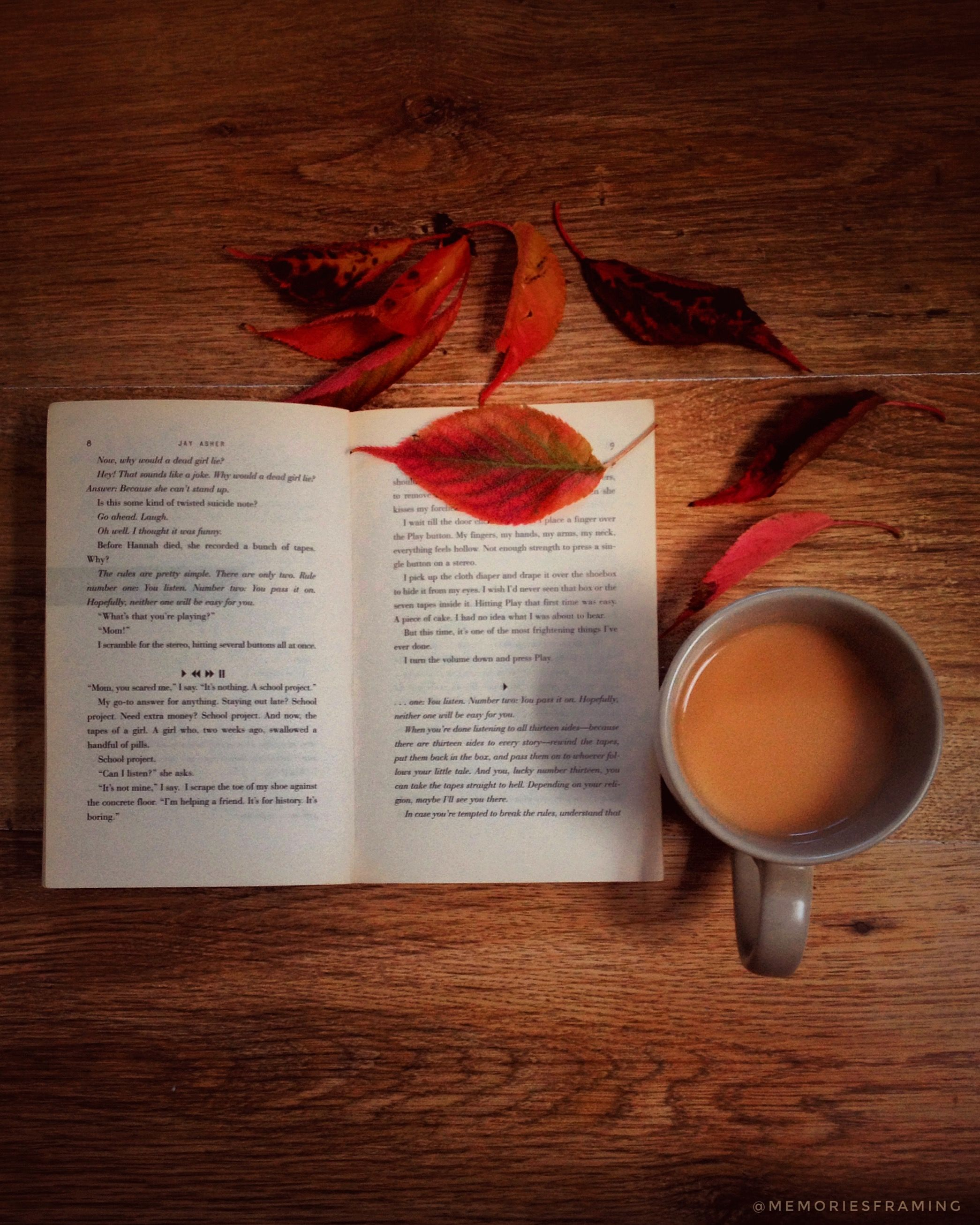 From the book where you might see the beautiful autumn leaves -  Autumn Shows Us How Beautiful It Is To Let Things Go Memoriesframing Autumnleaves Tea Autumn Autumncolors Fall Fallleaves