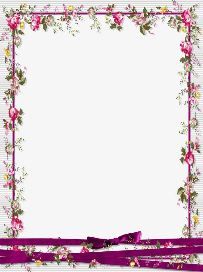 Floral Border Design Floral Border Design Flower Frame Frame Border Design