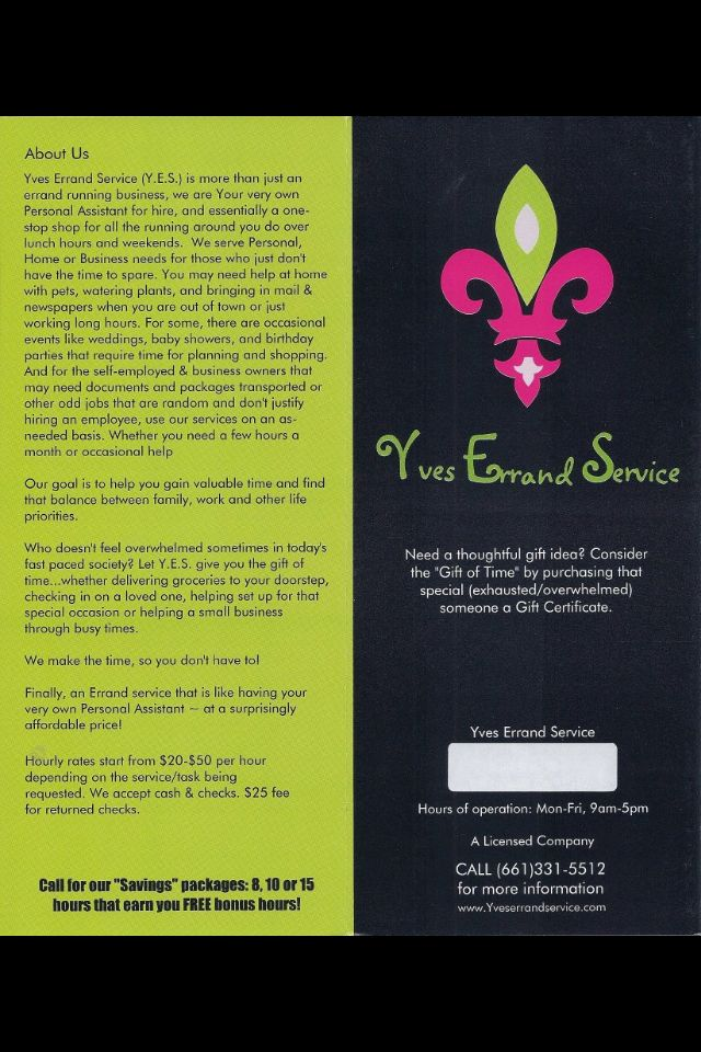 Personal Assistant and Concierge Service
