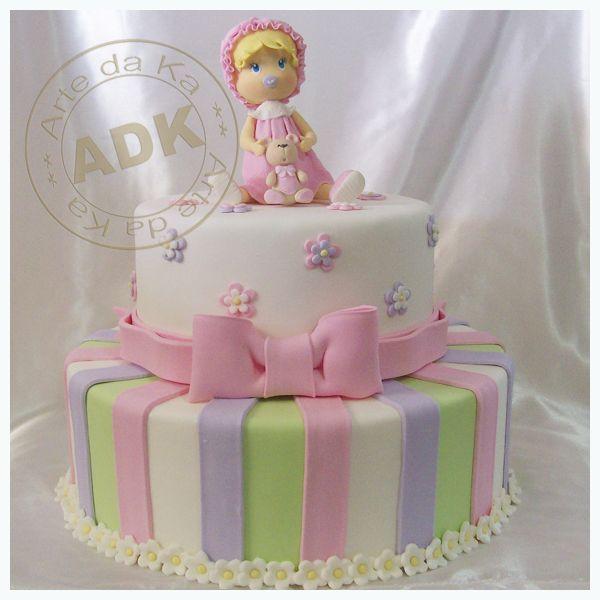 bolo rosa e lilas