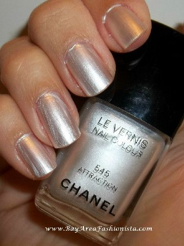 Must have nail polish from Bay Area Fashionista ~ Chanel Attraction
