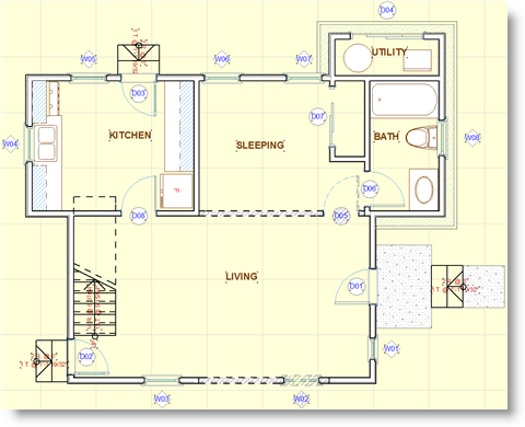 Archicad Tutorial Remodels And Additions In Archicad Archicad Tutorials Eric Bobrow S Blog Archicad Training How To Plan Tutorial Remodel