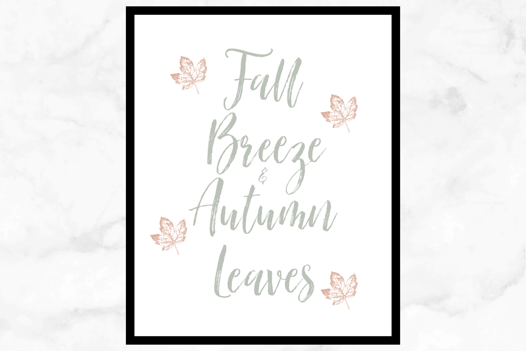 Fall Breeze & Autumn Leaves Free Printable #autumnleavesfalling Fall Breeze & Autumn Leaves Free Printable. Click here to download this free Fall printable. Fall decor. Fall wall art. Free Fall decor. #autumnleavesfalling