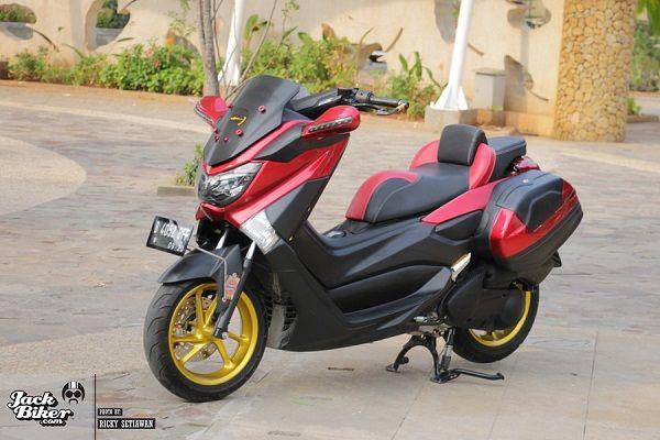 gambar foto modifikasi motor mio soul gt scoots  bike