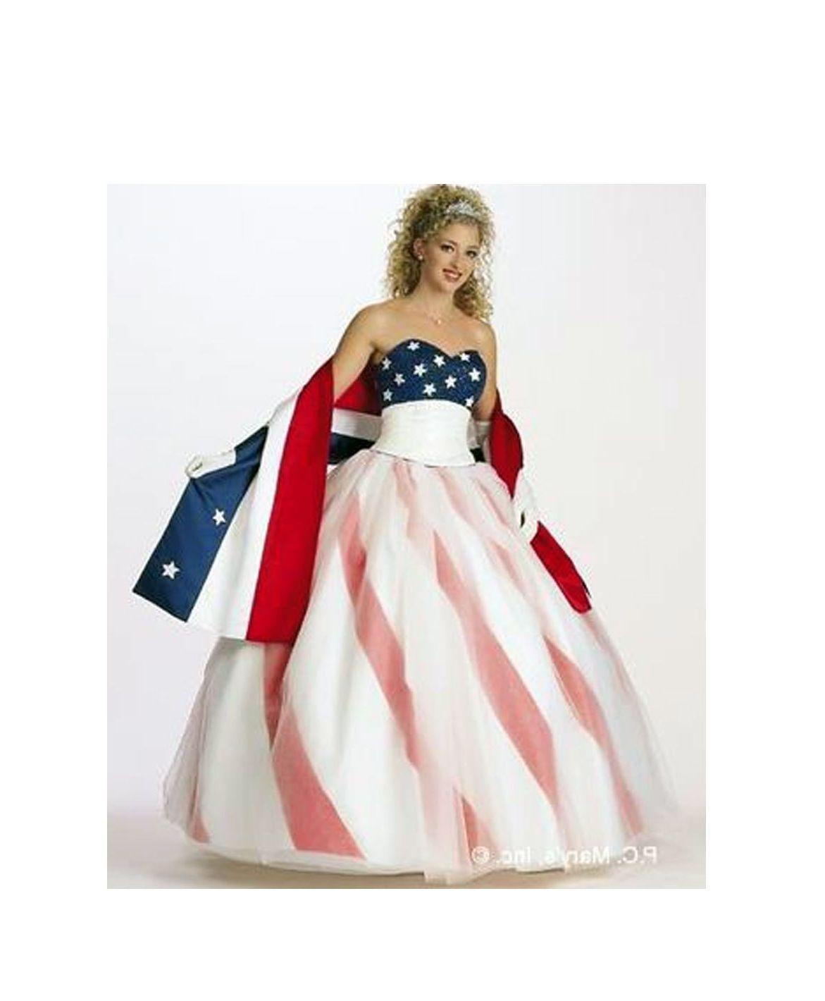 American Flag Wedding Gown | Wedding Dress | Pinterest | Gowns ...