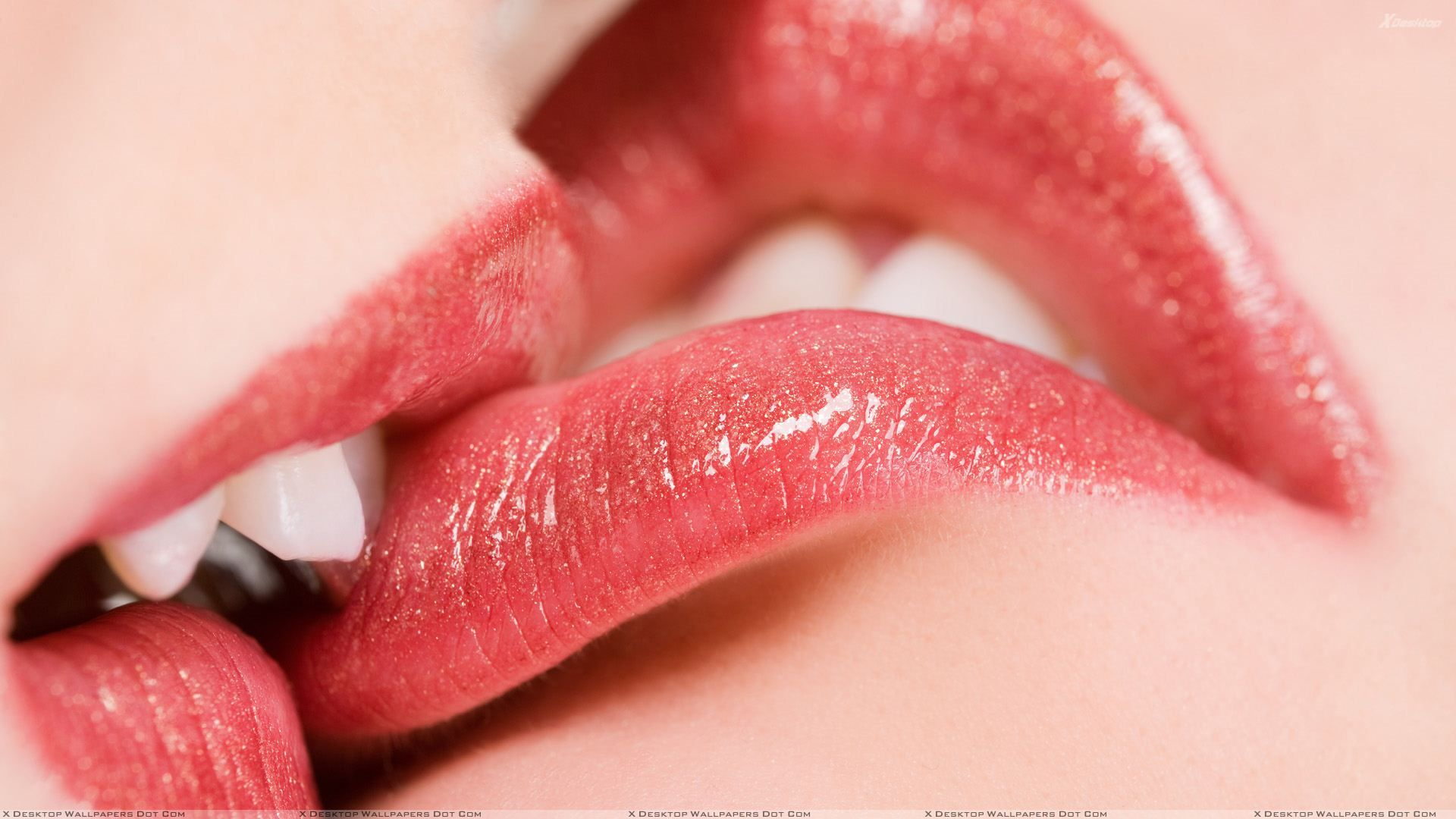 Lips Kissing Glossy Red Lips Closeup Wallpaper Lip Kiss Images