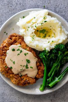 My mom's chicken fried steak - Simply Delicious