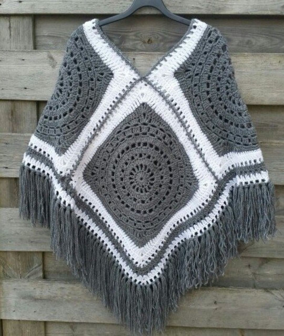 The Most Beautiful Crochet Poncho Patterns Crochet Crochet Patterns