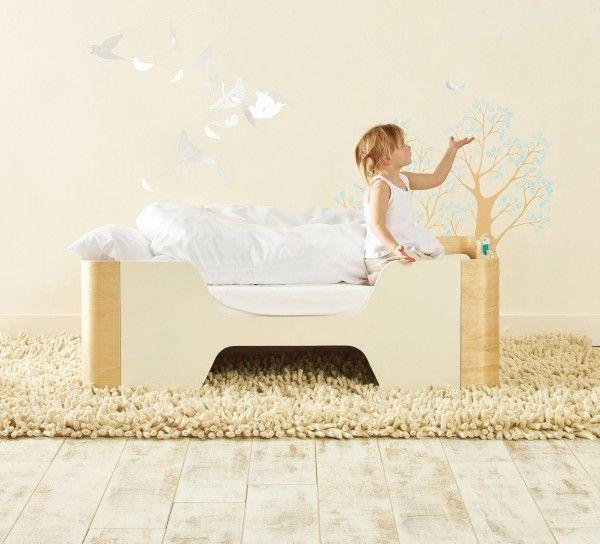 čudovit moderen dizajn varna in udobna postelja za malčke ...
