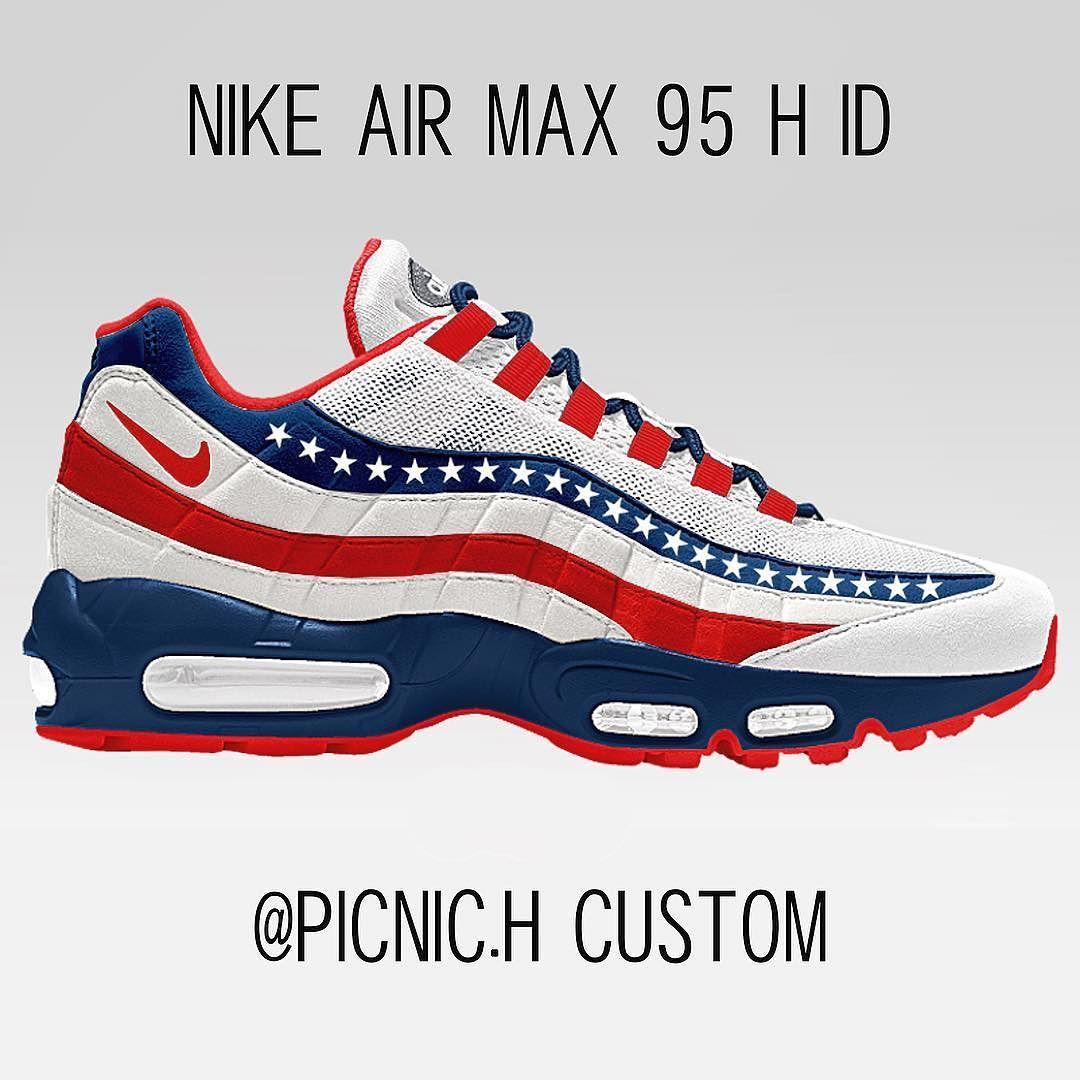 Neu NikeiD HTM Nike Air Max 95 H iD The Drop Date billig
