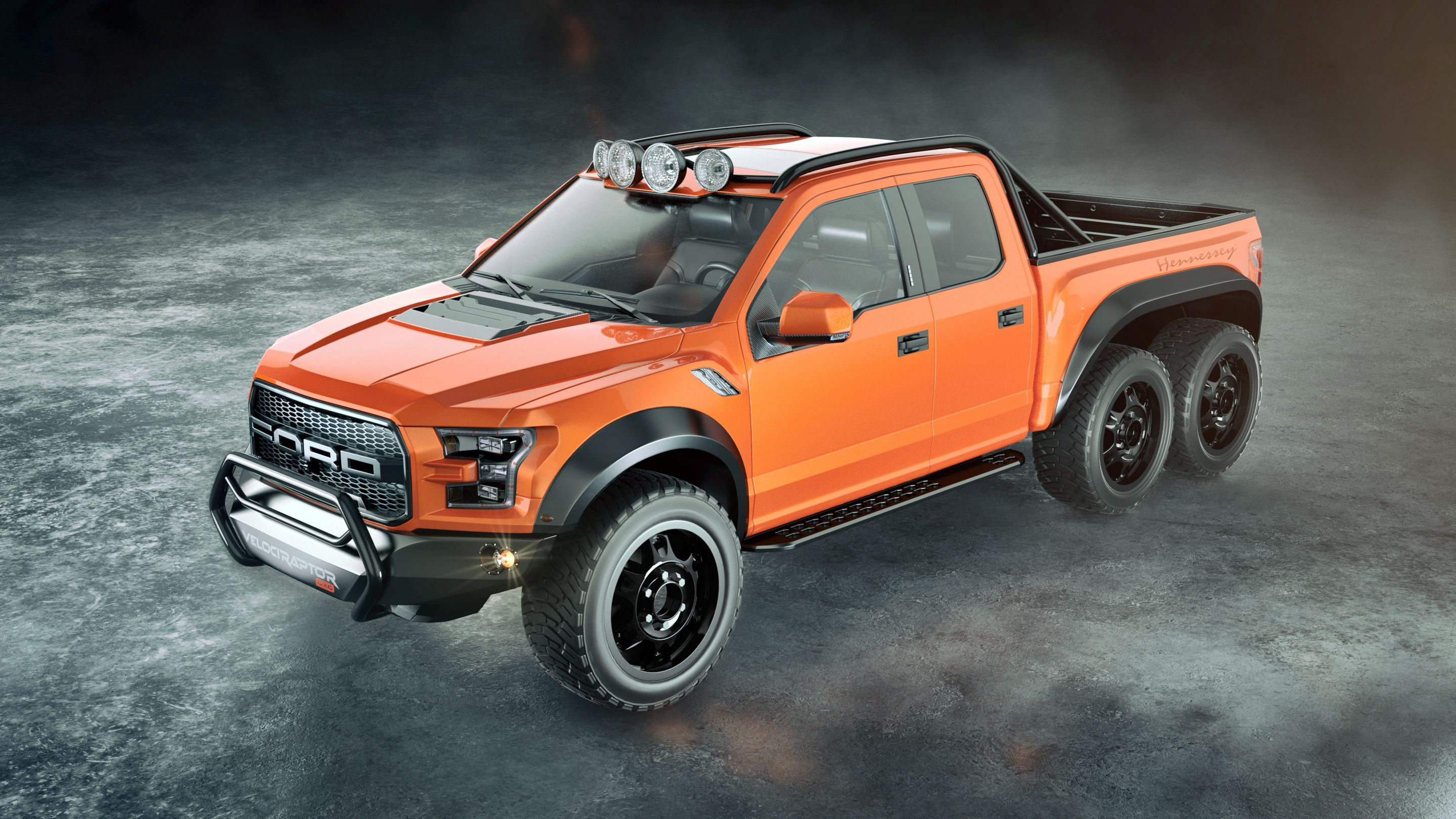 Hennessey Velociraptor 6x6 With Images Ford Raptor Ford