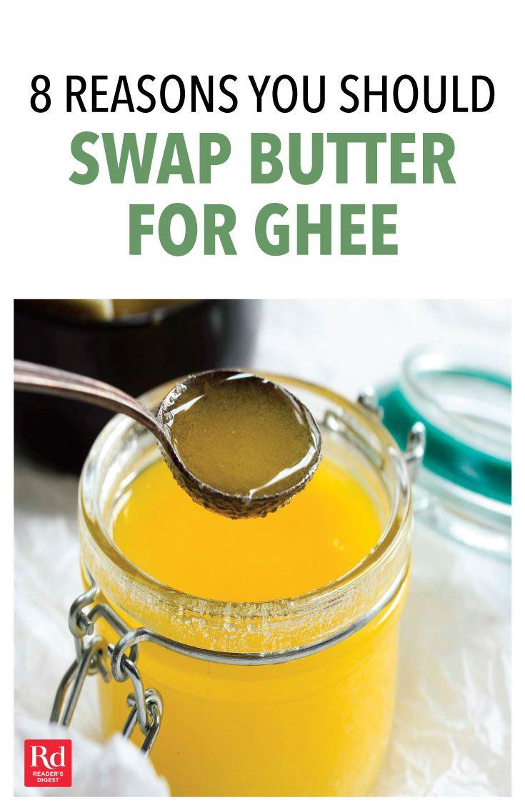 8 Reasons You Should Swap Butter For Ghee Ghee Benefits Ghee Ghee Butter