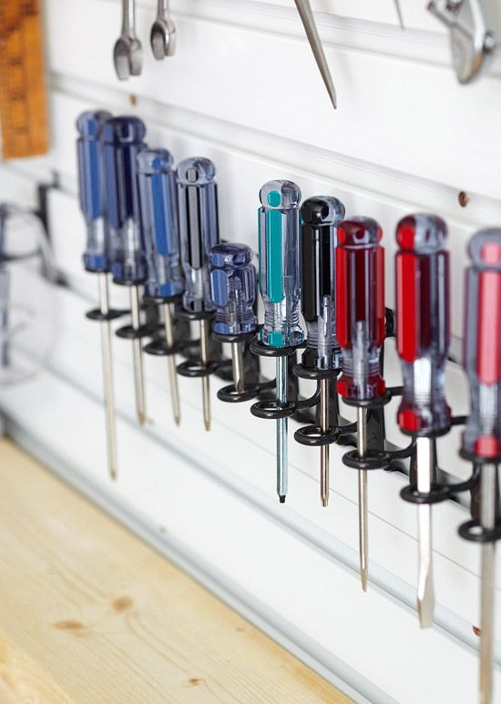 Ideas for Garage Storage \ Organization Garage organization, Tool - idee de rangement garage
