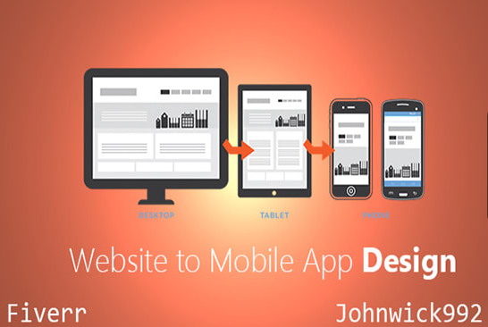 I Will Convert Website To Mobile App Iphone, Phone