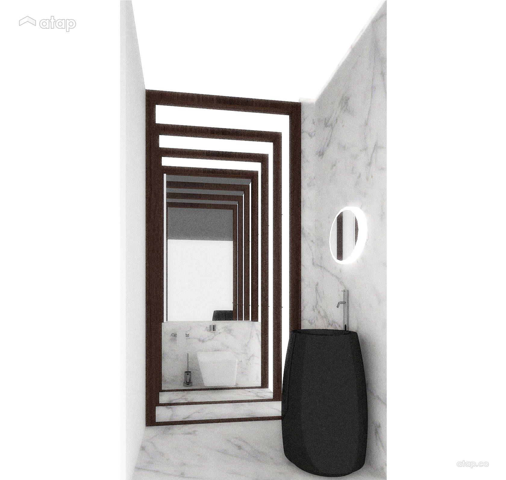 Minimalistic Bathroom Bungalow Design Ideas & Photos