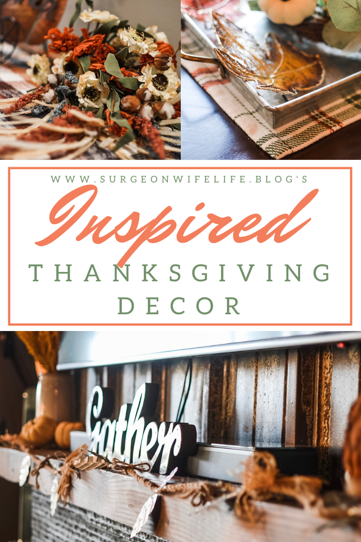 In need of Thanksgiving decor inspiration?! With a modern industrial influence, these Thanksgiving decor ideas will help you plan your (affordable) holiday decorations! Thanksgiving decor, holiday decor, holiday decor inspiration