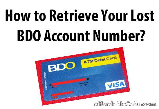 Business loan requirements bdo