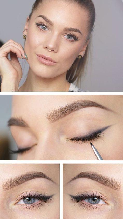 Eyeliner für Anfänger kann eine Herausforderung darstellen, weshalb ich 25 geniale Augen habe #hairandmakeup