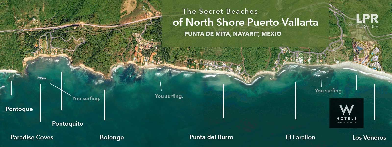Image Result For Los Veneros Punta Mita Surf Nayarit Paradise Cove Secret Beach