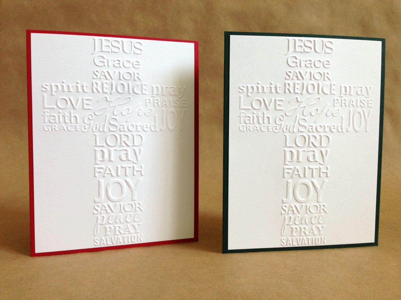 Religious Christmas Card Set of 6 - Christian Christmas Card ...