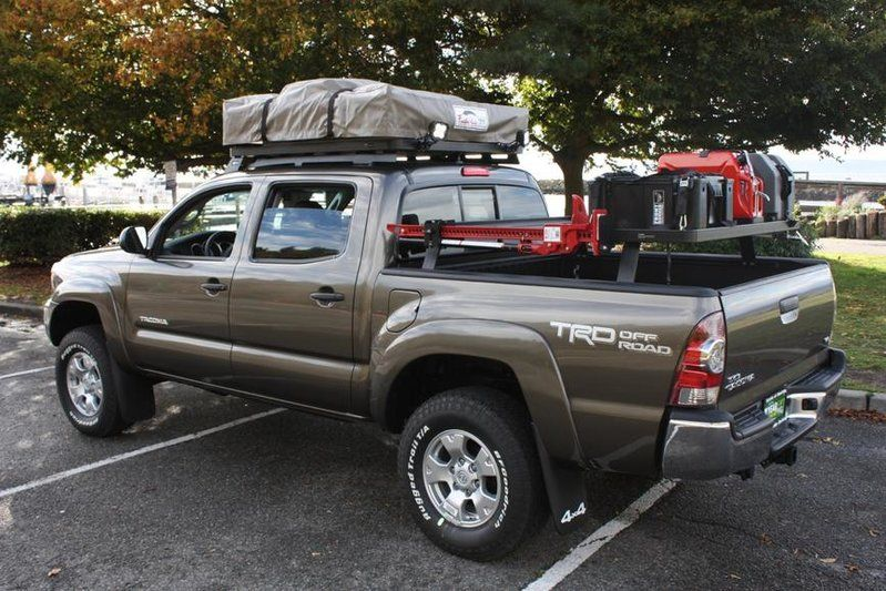 Bed Rack For Roof Top Tent Santa Cruz Ca Trucksicles