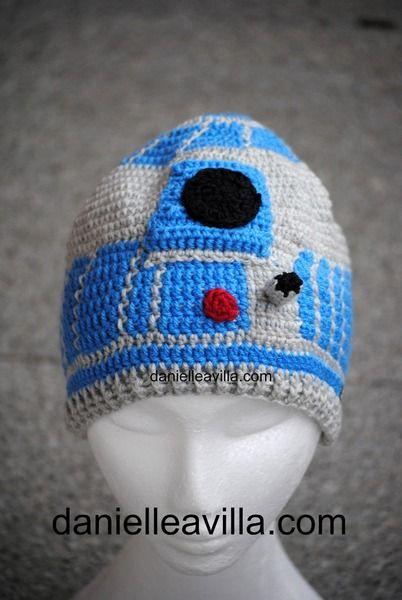 Gehäkelte Mütze R2d2 Star Wars Von Danielle Avilla Häkel Mit