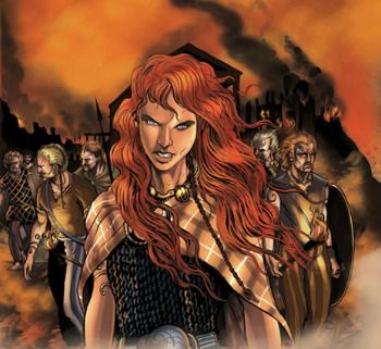 Boudicca The Warrior Queen A Fun Poem For Kids Celtic Warriors Warrior Queen Warrior