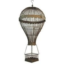 wire hot air balloon sculpture