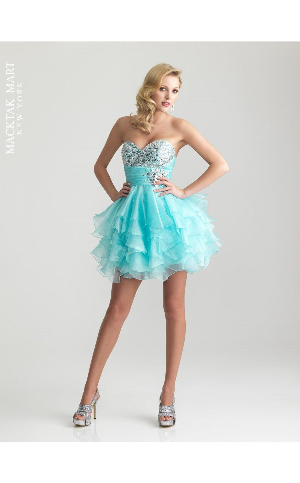 Night Moves by Allure 6711 short prom sweet sixteen dress turquoise ...