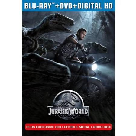 Jurassic World (Blu-ray DVD Digital HD Collectible Metal Lunch Box) (Walmart  sc 1 st  Pinterest & Jurassic World Blu-ray DVD Collectible Lunch Box Aboutintivar.Com