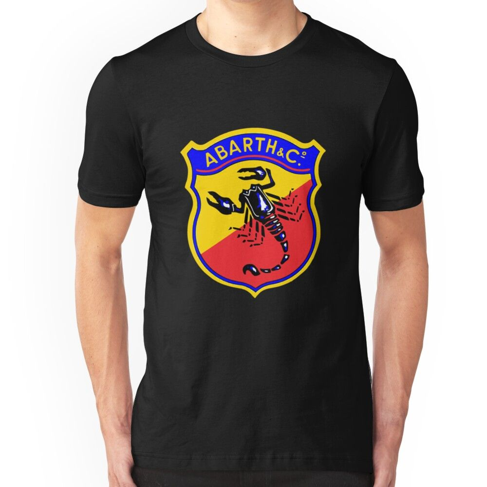 'Classic Car Logos: Abarth & C.' T-Shirt by brookestead