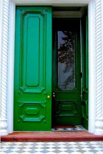 Color Spotlight Kelly Green Green Front Doors Green Door Doors