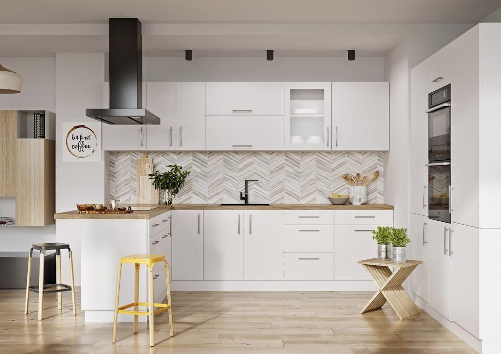 Modne Szafki Kuchenne Kitchen Decor Bright Kitchens White Kitchen