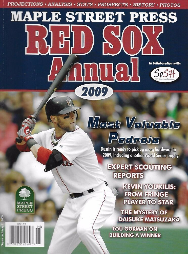 Maple Street Press Boston Red Sox Baseball Magazine Annual Scouting Reports Bostonredsox Boston Red Sox Baseball Red Sox Red Sox Baseball