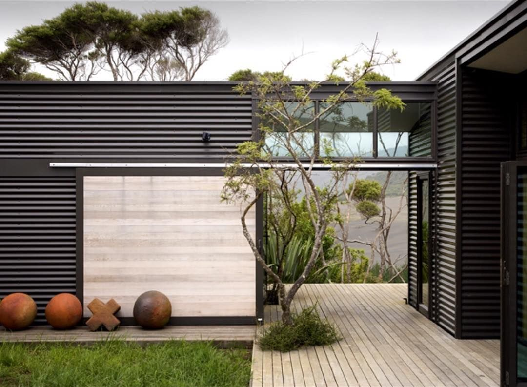 Contemporary exterior innovative designs colorbond contemporary - Inspiration For The Bush Houses Steel Colorbond Stone Timber Glass