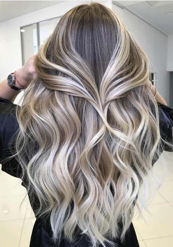 Best Toasted Coconut Hair Colors For Long Hair Looks In 2019 Stylesmod Browse This Link To See Our Most Stunning In 2020 Balayage Frisur Haarfarben Haare Balayage