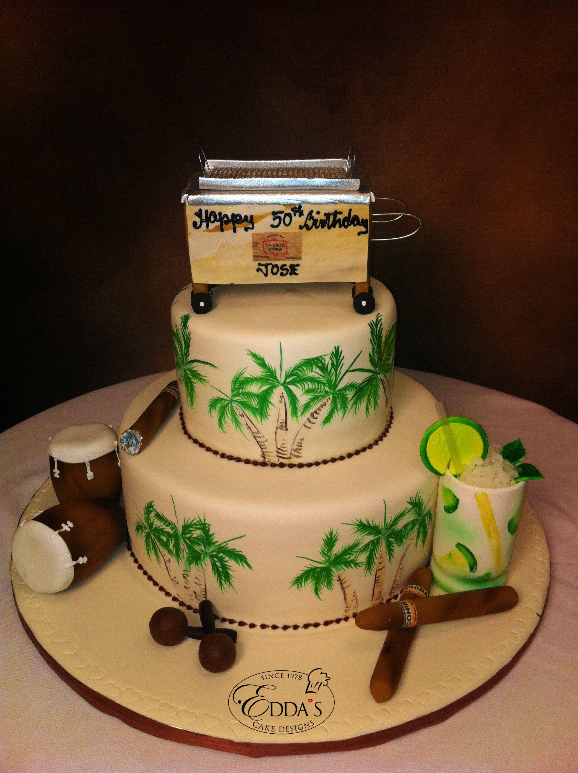 Pin By Edda S Cake Designs On Birthday Cakes Havana
