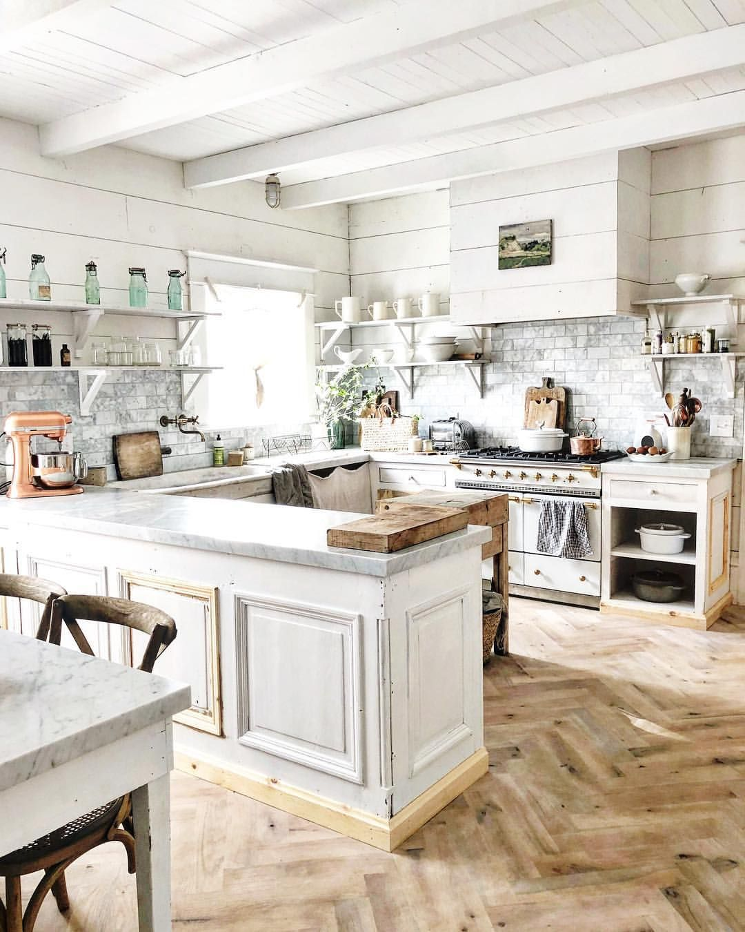 If My House Looks Unfinished In Pictures That S Because It Isn T Finished We Are Finishing Trimming French Kitchen Decor Kitchen Inspirations Kitchen Decor