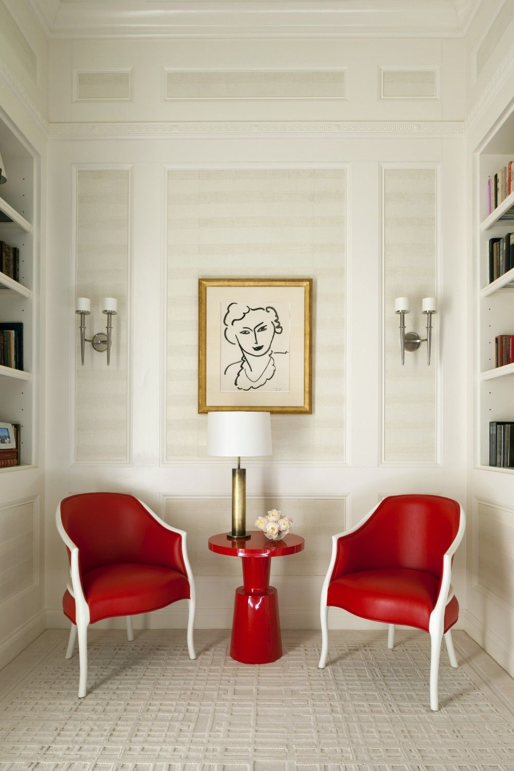 Contemporary Living Room By Roger Thomas Wynn Design Development In New York