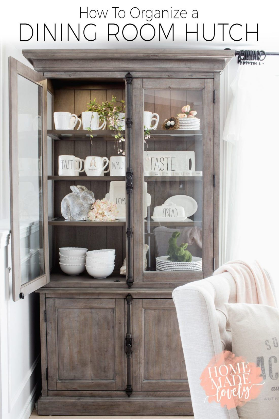 Dining Room Shelves If You Have Pretty Things Like Napkins Placemats Napkin Rings Etc And