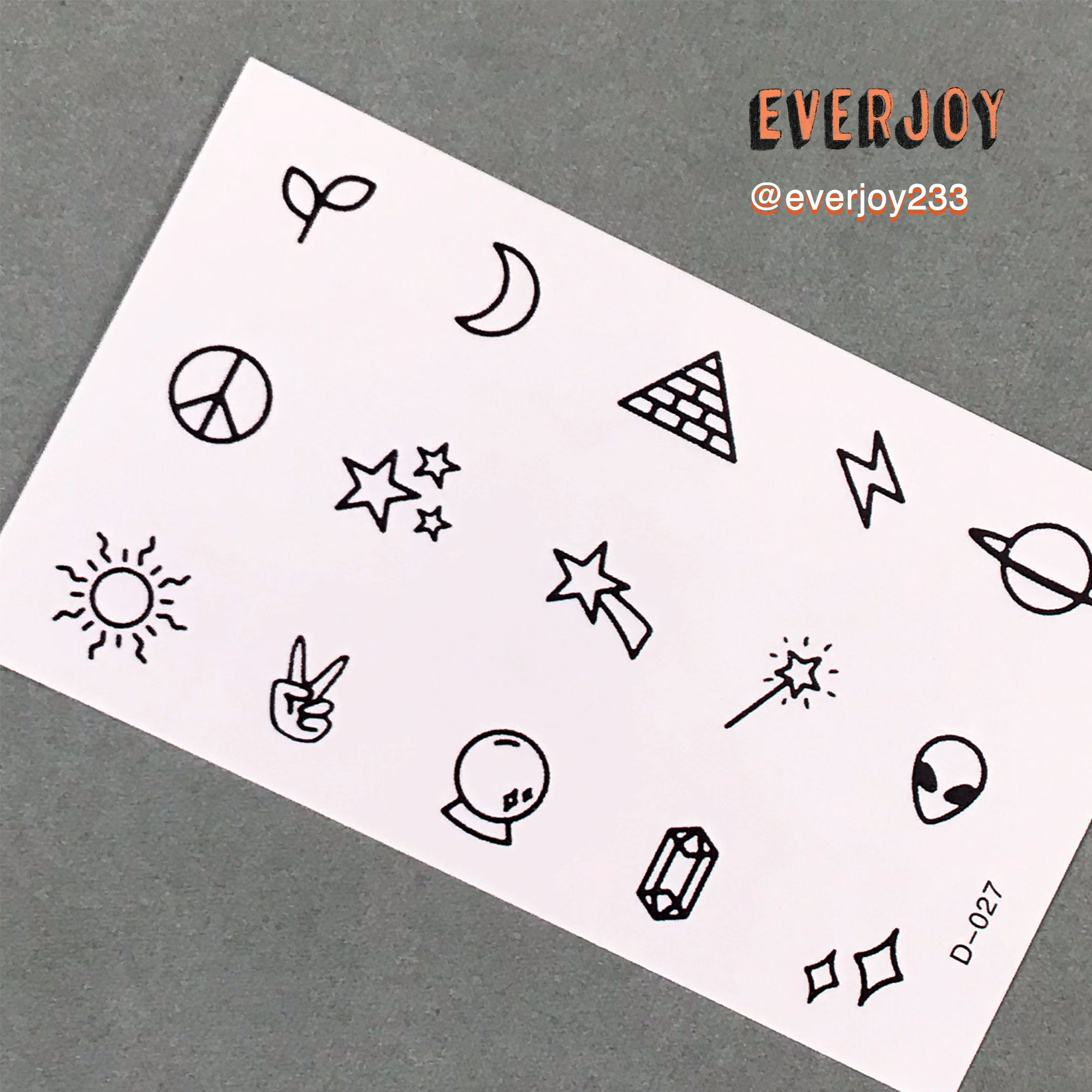 Pin On Tiny Small Doodle Temporary Tattoos
