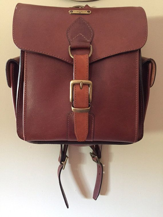 Rm Williams Vintage Riders Backpack Rare By Theequestrianista Australian Saddle Riding Clothes