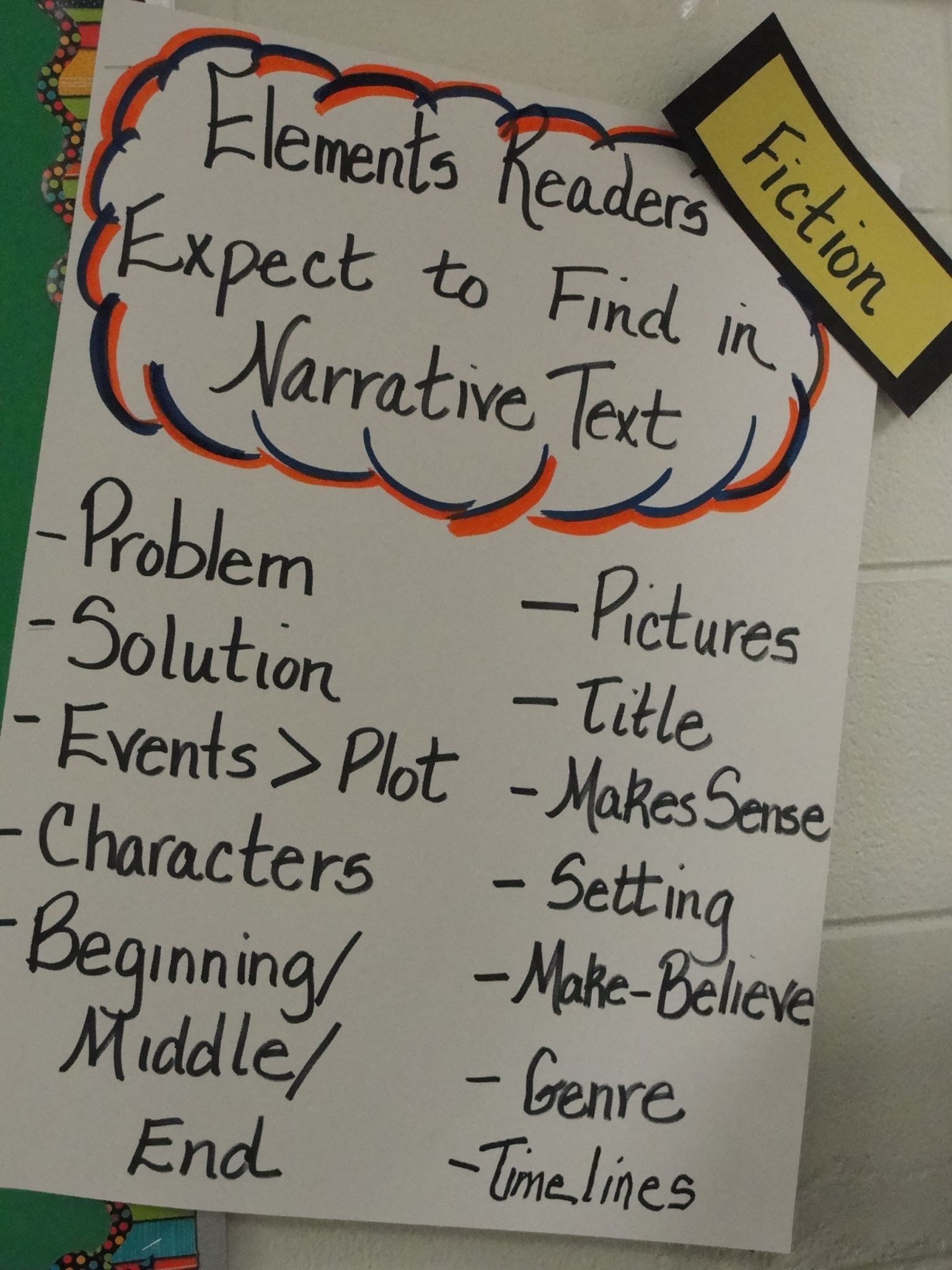 how to make narrative text