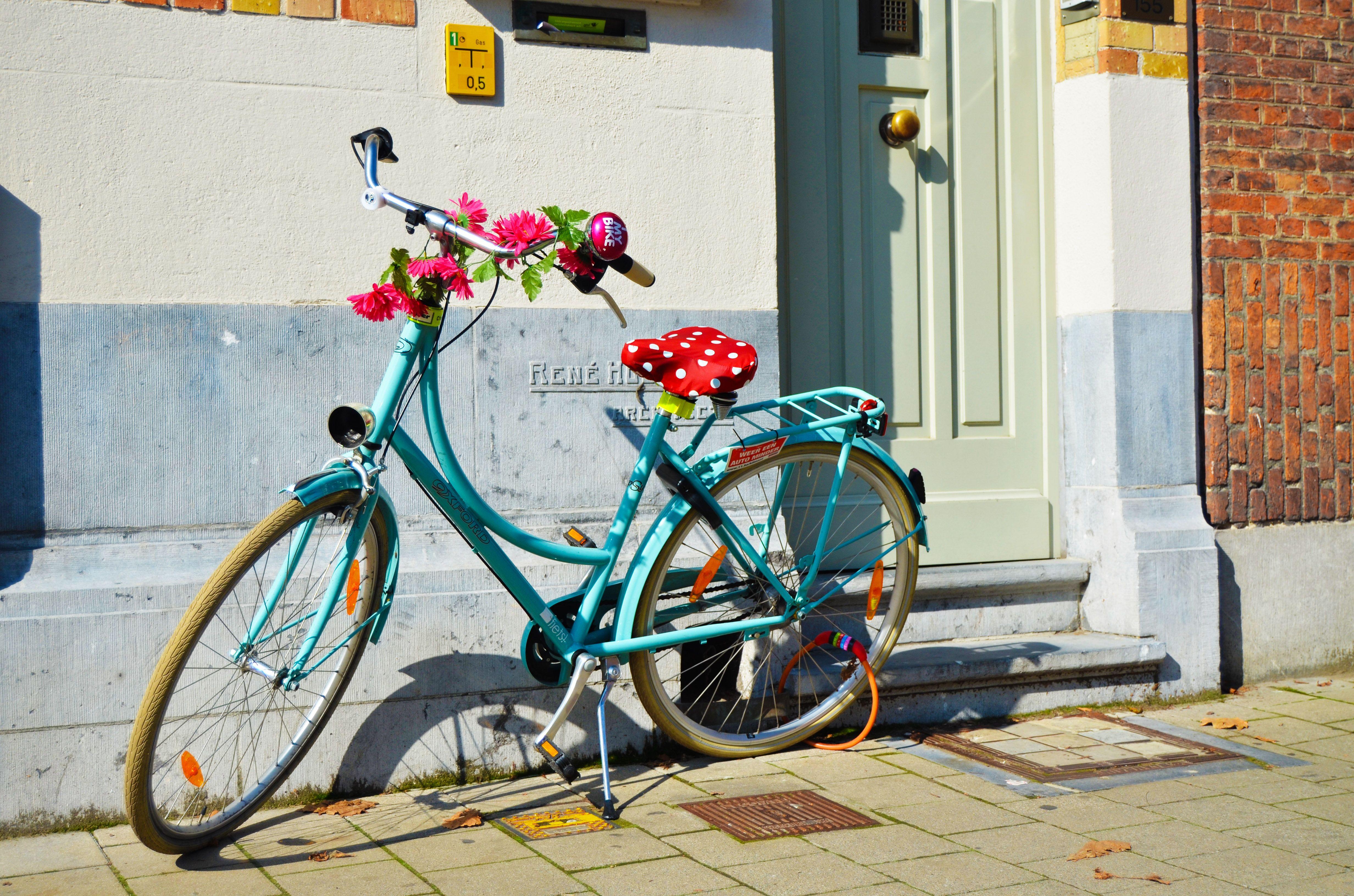 Bicicleta en Gante