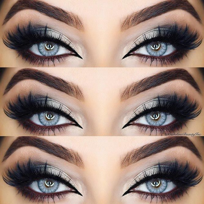 Photo of 48 best ideas for makeup for blue eyes